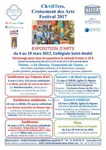 ChARTres 2017 - Croisement des Arts - Affiche 2